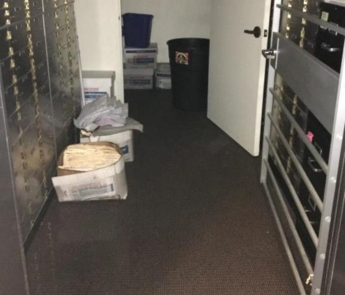 Commercial Local Bank with water damage